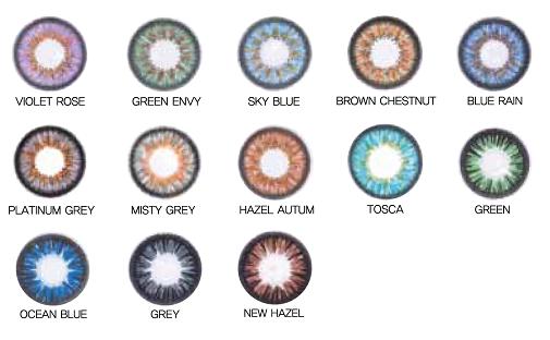 kleurlenzen zonder sterkte of kleurlenzen met sterkte bestellen