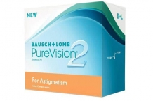 Purevision 2 for astigmatism